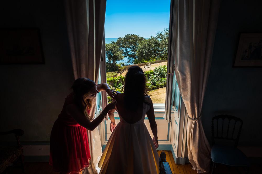 mariage au chateau de st marc st nazaire